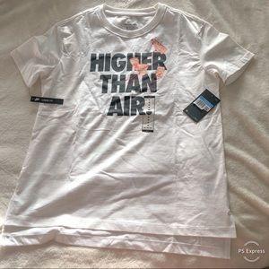 NWT. The Nike tee. Air Nike. Higher than air tee.